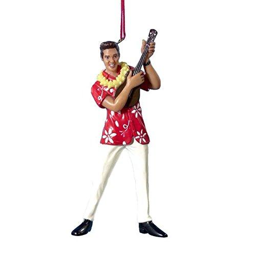 Elvis Presley-Elvis in Hawaiian Shirt Ornament