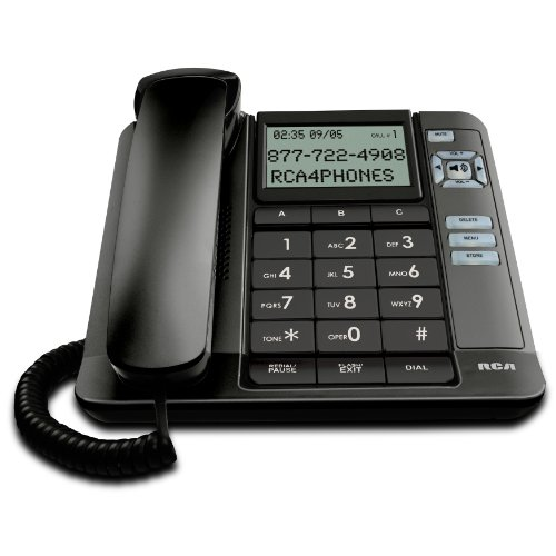 - RCA 1113-1BKGA 1-Handset Landline Telephone