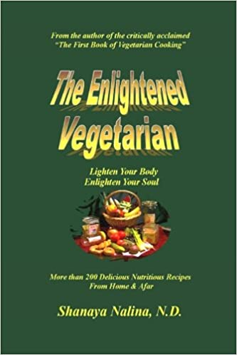 Book The Enlightened Vegetarian: Lighten Your Body - Enlighten Your Soul