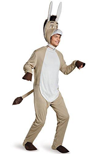 [Disguise Men's Plus Size Shrek Donkey Deluxe Costume, Grey, XX-Large] (Shrek Costumes)