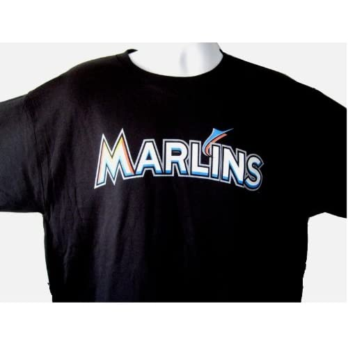 7949961a5e5 85%OFF New ADULT size XL MLB Miami MARLINS Majestic T-Shirt Tee Jersey