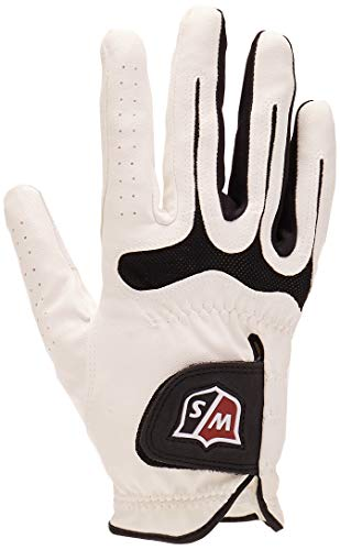 Wilson Staff Grip Soft Mesh Golf Glove, Large, Right Hand ()