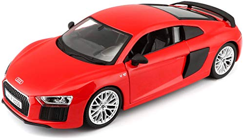 Maisto 1:24 Scale Audi R8 V10 Plus, Colors May Vary