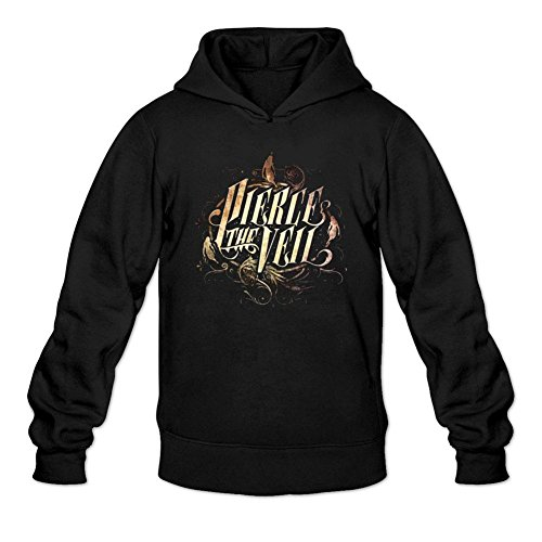 SUNRAIN Men's Customized Pierce The Veil Collide With The Sky Hoodies M