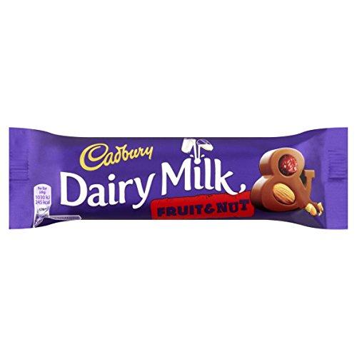 Dairy Nuts Fruit (Cadbury Bar x 6 (Dairy Milk Fruit & Nut 49g))