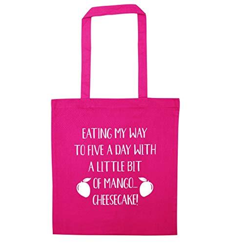 Creative Flox Mango Five Cheesecake Day Bag Pink a Tote fPqRPzd
