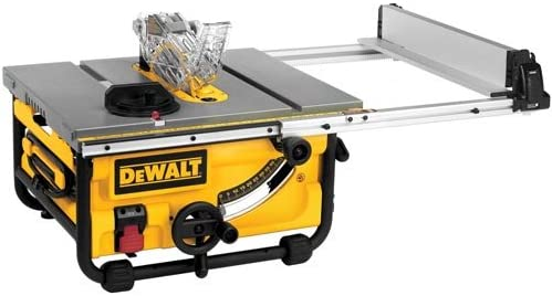 DEWALT DWE7480 10 in. Compact Job Site Table Saw Discontinued