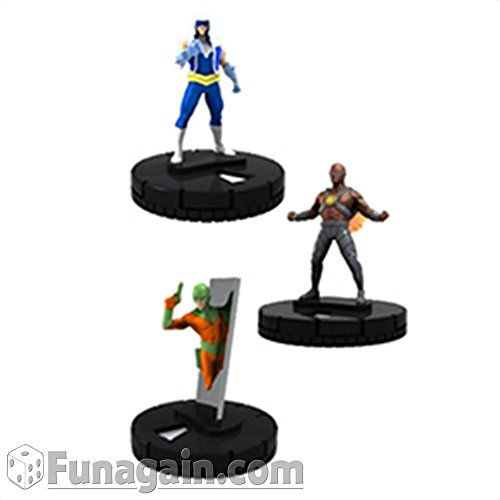 DC HeroClix: Flash Rogues Fast Forces Pack by WizKids (Dc Rogues)