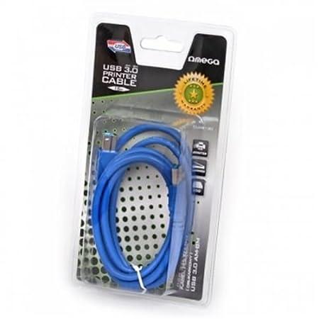 Cable USB 3.0 A/B macho alargador para impresora escáner ordenador ...