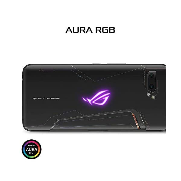"ASUS ROG Phone 2 (New) Unlocked GSM US Version & Warranty, 1TB Storage, 12GB RAM, 6.6"" FHD+ AMOLED 120Hz Display, Snapdragon 855 Plus, No Volte, Gaming Smartphone (ZS660KL-S855P-12G1T-MB) (1TB) 6"
