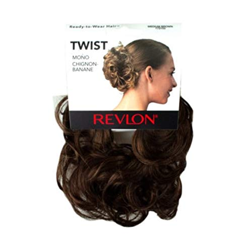 Revlon Hair Extensions - Revlon Spare Hair Twist Hairpiece, Medium Brown