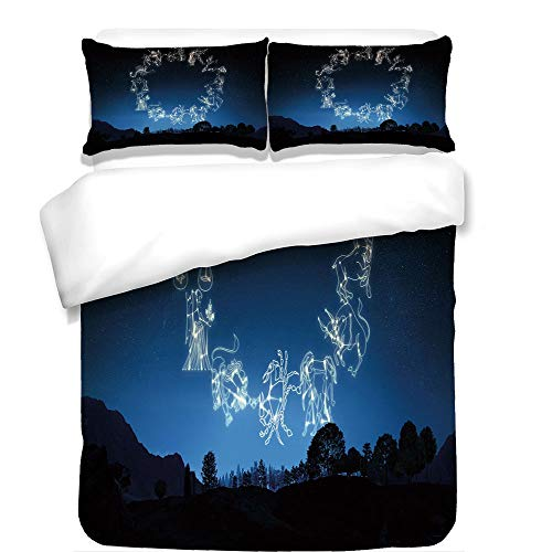 iPrint Duvet Cover Set,Guitar,Abstract Grunge Retro Background with Headstock and Tuning Pegs Blues Jazz Musician,Multicolor,Best Bedding Gifts for Family Or ()
