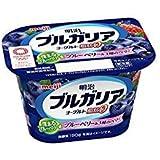 [冷蔵] 明治 ブルガリアヨーグルト 脂肪0ブルーベリー種のベリー180gX12個