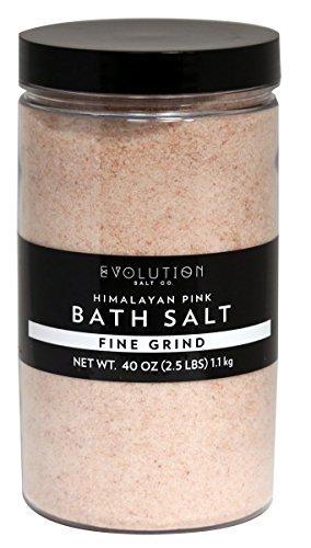 Evolution Salt - Bath Crystal Himalayan Salt Fine Grind 40 oz