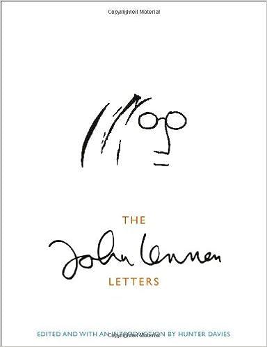 The John Lennon Letters: Amazon.es: John Lennon, Hunter ...