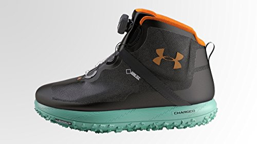Under Armour UA Fat Tire GTX Boot - Mens Lead / Black / Orange 10 from Under Armour