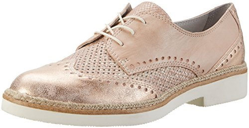 Tamaris Damen 23718 Brogues Roze (rose Kam 596)