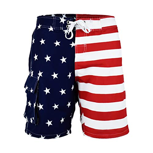 (VBRANDED Men's American Flag 8.5