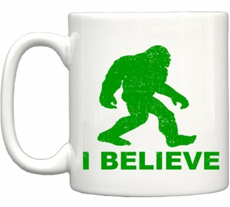 I Believe in Bigfoot Sasquatch Coffee Mug