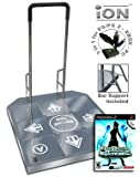 DDR SuperNova 2 and Dance Dance Revolution iON Arcade Metal Arcade with Handle Bar (PS, PS2, Xbox, a