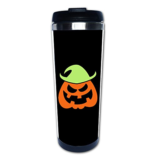 [SUNpp Naughty Halloween Scarecrow Coffee Thermos & Vacuum Flask] (Making A Scarecrow Costume)