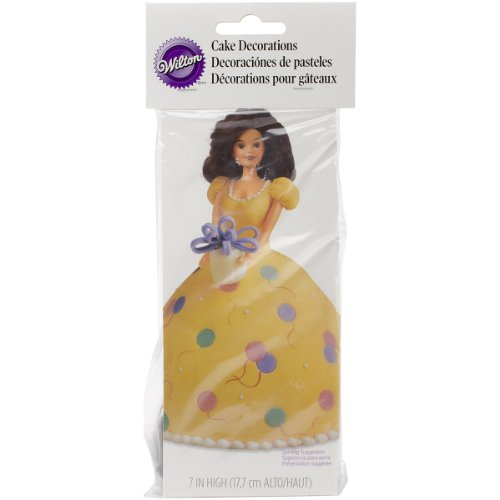 (Wilton Cake and Dessert Pick Doll Teen Brunette)