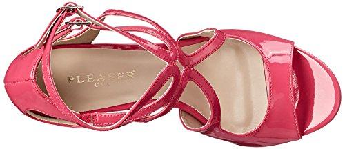PleaserAmu15/b - Zapatos de Tacón mujer - H. Pink Pat