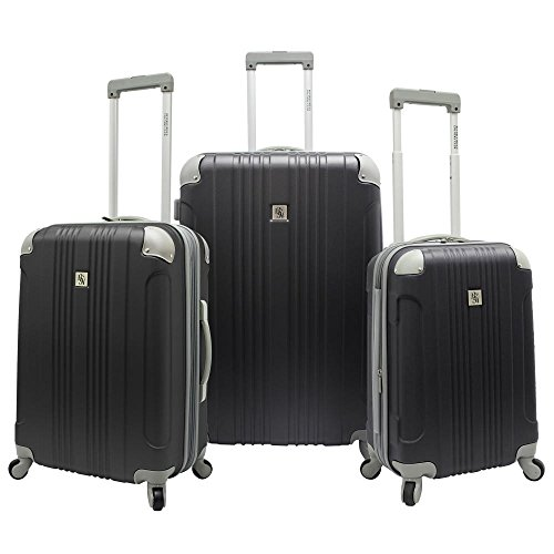 beverly-hills-country-club-malibu-3-piece-hard-side-spinner-luggage-set-in-grey