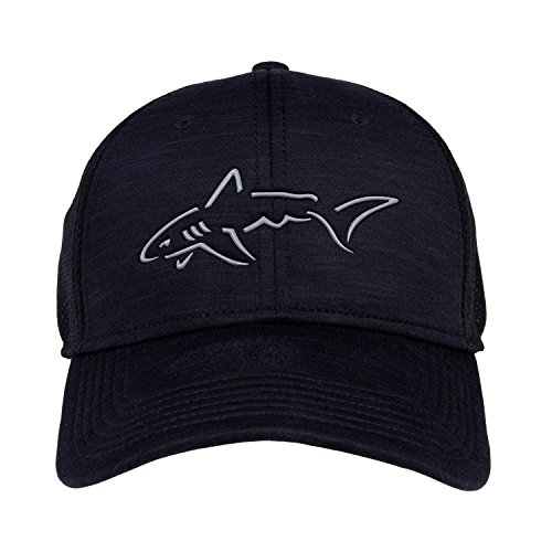 The Game Greg Norman Heather Mesh Stretch Fit Hat by The Game