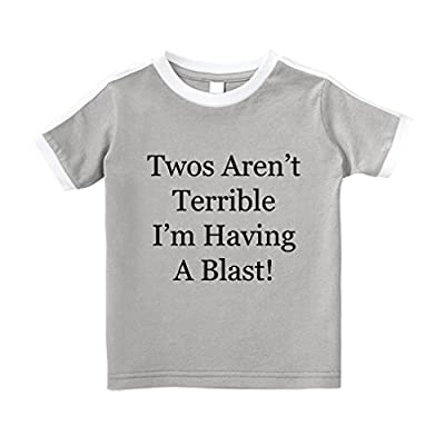 Cute Rascals Twos aren't Terrible I'm Having A Blast! T-Shirt
