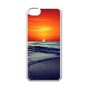 sunset iPhone 5c Cell Phone Case White Klcsi