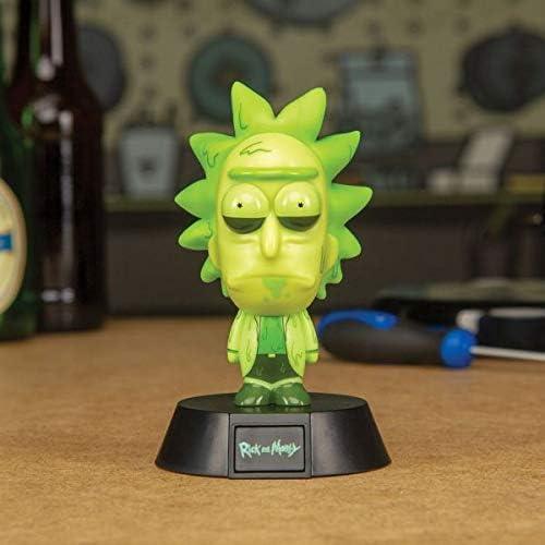 Paladone Toxic Rick Icon Light, Rick and Morty Collectible Figure Light: Amazon.co.uk: Lighting
