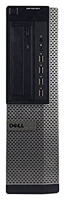 Dell OptiPlex 990 Business High Performance Desktop - PC CI5 2400 3.1G,8G DDR3,320G,DVD,Windows 10 Pro - Black/Silver - 16VFDEDT0221