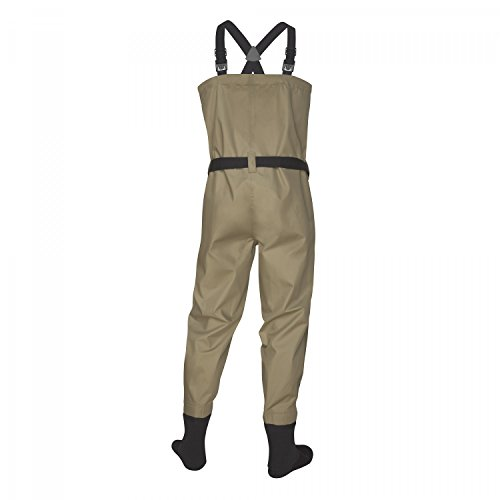Redington crosswater stockingfoot breathable fly fishing for Fishing waders amazon