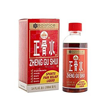 Zheng Gu Shui Sports Pain Relief Liquid, 3.4 Oz (Shui Gu Liniment Zheng)