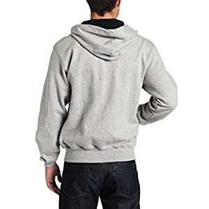 Champion Men's Full-zip Eco Fleece Jacket Hoodie, Oxford Gray, X-Large