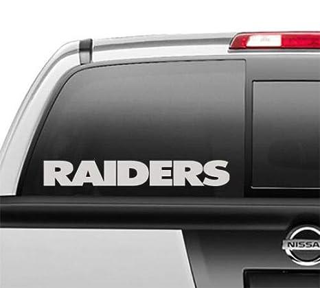 Window Stickers For Cars >> Amazon Com Creative Club Stickers Oakland Raiders Window