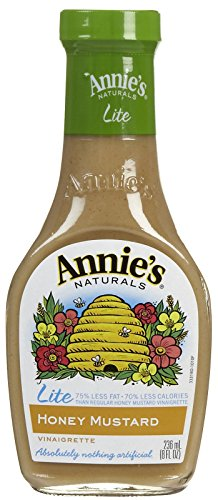 Annie's Homegrown Lite Honey Mustard Vinaigrette - 8 oz