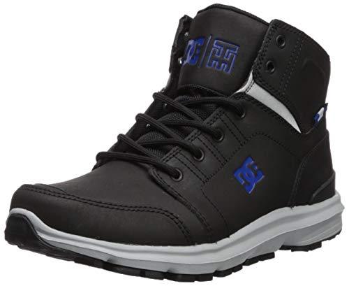DC Shoes Mens Shoes Torstein - Leather Winter Boots - Men - US 10 - Black Black/Grey/Blue US 10 / UK 9 / EU 43