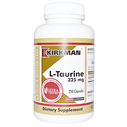 L Taurine 325 Capsules Hypo 250 product image