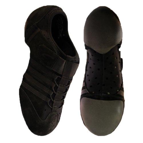 Capezio PP15 Jag Dance Jazz / Zapatillas de deporte Negro