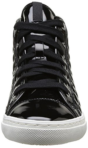 New A Mode Geox c9999 Femme Baskets Noir Club TfZwp