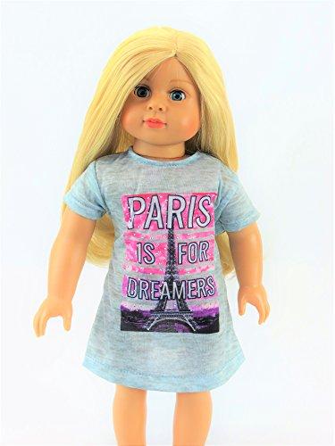 Paris Nightgown | Fits 18
