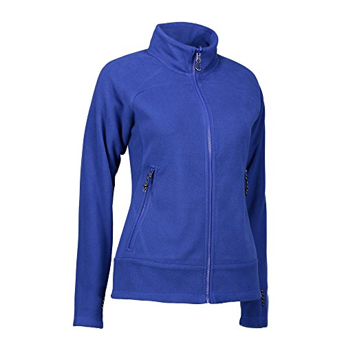 Blu Zip Pile N Donna Navy Mix In Id Giacca Active Axnwx8Z