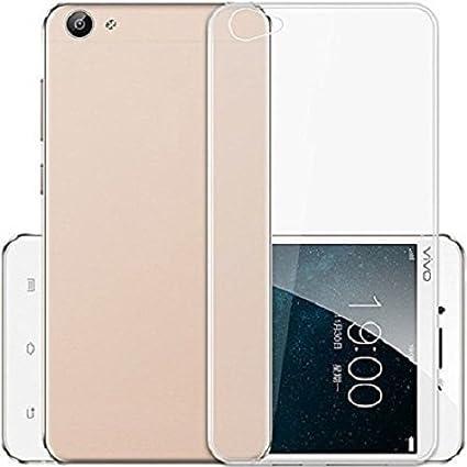 Thinkzy Transparent Soft Back Case Cover for Vivo V5: Amazon
