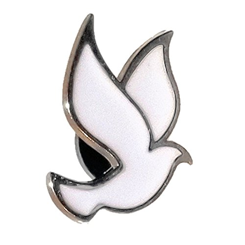 Heaven's Charms 25-Pack White Dove Lapel Pins Company Lapel Pin