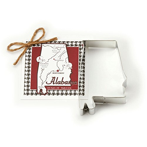Alabama Cookie and Fondant Cutter - Ann Clark - 4.5 Inches - US Tin Plated Steel