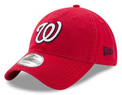 Washington Nationals New Era MLB 9Twenty Primary Core Classic Adjustable Hat