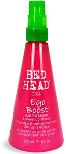 Remoisturizing Conditioner (TIGI Bed Head Ego Boost Split End Mender, Leave-In Conditioner 8 oz (Pack of 3))