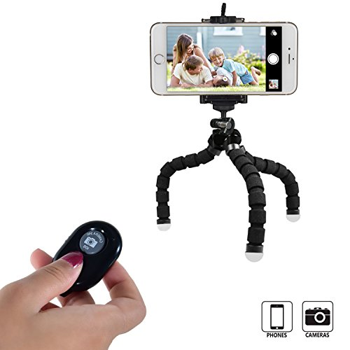 DIGIANT ZD001-01 Tripods, Flexible Octopus Cell Phone Camera - Cell Phone Cushion Holder